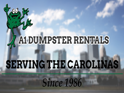 A1 Dumpster Rentals serving the Carolinas